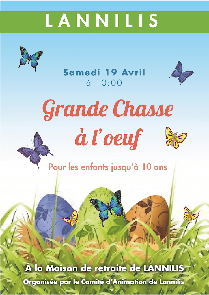 Affiche chasse a l-oeuf